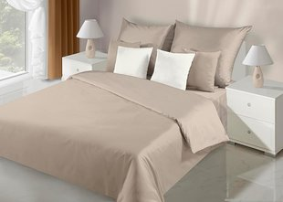 Voodipesukomplekt 2-osaline NOVA Collection Beige Bed, 155x220 cm