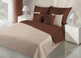Voodipesukomplekt 2-osaline NOVA Collection Beige Brown, 155x220 cm