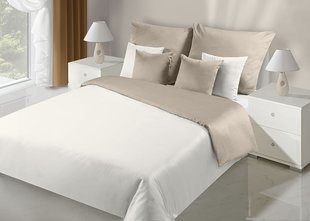 Voodipesukomplekt 2-osaline NOVA Collection Cream Beige, 155x220 cm