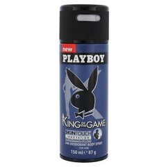 Spreideodorant Playboy King of the Game meestele 150 ml