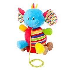Ratastel elevant Smiki, 1 tk hind ja info | Imikute mänguasjad | kaup24.ee