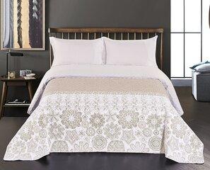 Kahepoolne voodikate Alhambra White Beige, 240x260 cm