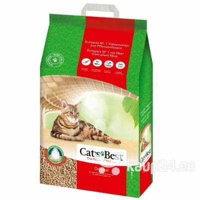 Naturaalne kassiliiv Cat's Best Original, 20 l Colors