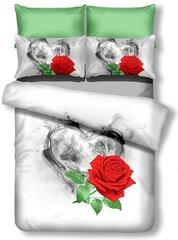 3D voodipesukomplekt 3-osaline Sorrento, 200x200 cm