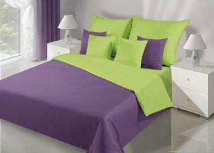Voodipesukomplekt 2-osaline NOVA Collection Violet Green, 135x200 cm