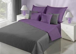 Voodipesukomplekt 2-osaline NOVA Collection Violet Steel, 155x220 cm