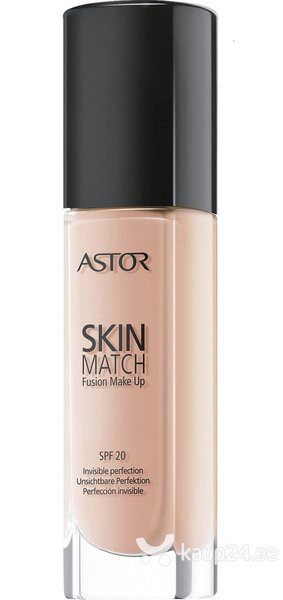 Jumestuskreem Astor Skin Match Fusion Make Up SPF20 30 ml