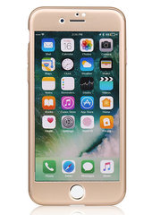 Kaitseümbris 360° Protective Case MP-8805 with screen Protector for iPhone 7 (Gold)