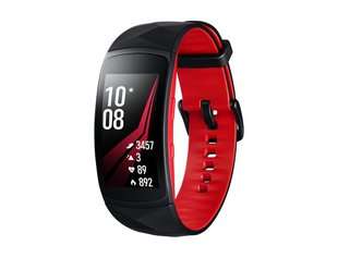 Samsung Gear Fit2 Pro SM-R365 Black/Red, размер: L цена и информация | Смарт-браслеты (fitness tracker) | kaup24.ee