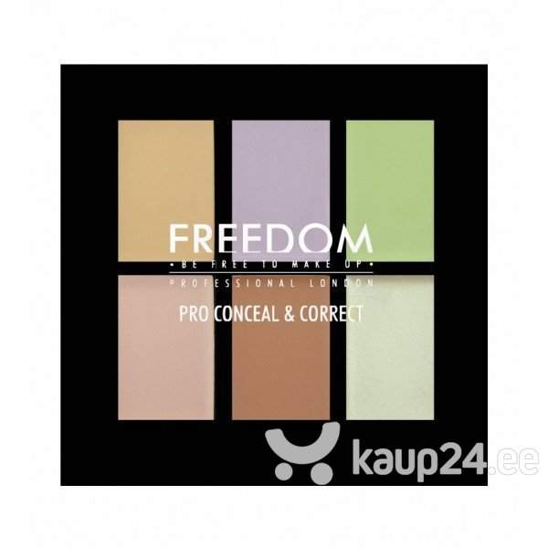 Meigipalett Freedom Pro Conceal & Correct 6 g