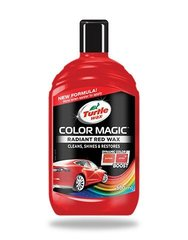 Poleerimisvahend Turtle Wax® COLOR MAGIC punane, 500 ml