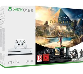Mängukonsool Microsoft Xbox ONE S 1TB + Assassins Creed Syndicate + Tom Clancys Rainbow Six Siege