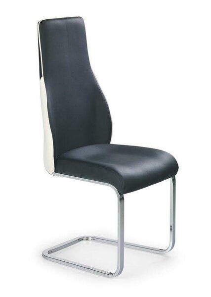 Комплект из 2 стульев Halmar K 141, черный/белый