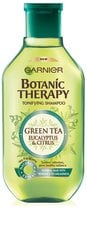 Green tea & eucalyptus šampoon Garnier Botanic Therapy 250ml hind ja info | Green tea & eucalyptus šampoon Garnier Botanic Therapy 250ml | kaup24.ee