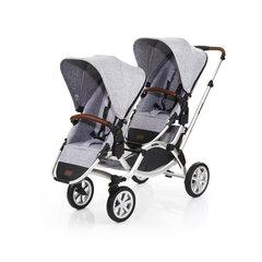 Jalutuskäru kaksikutele ABC Design Zoom Air, graphite grey