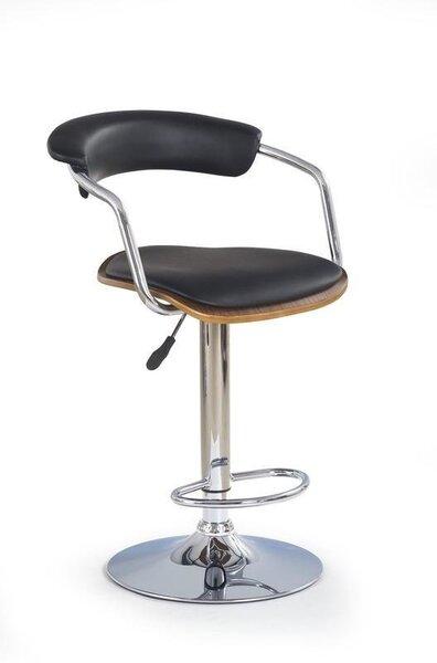 Комплект из 2 барных стульев Halmar H19, коричневый/черный