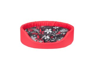 Amiplay кроватка Oval Fun, L, красный цена и информация | Кровати и подушки | kaup24.ee