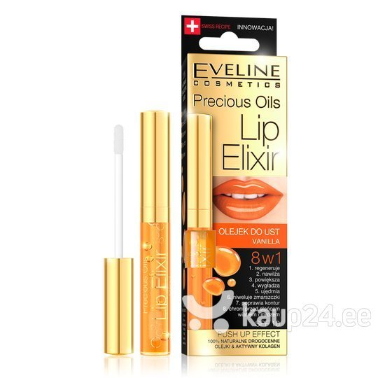 Huuleõli Precious Oils SPF10 8in1 Eveline 7 ml