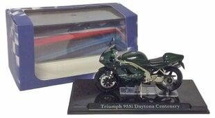 Коллекционная модель мотоцикла с подставкой Triumph Daytona Centenery