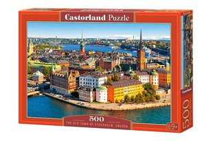 Pusle Puzzle Castorland The Old Town of Stockholm Sweden, 500 osa hind ja info | Pusled | kaup24.ee