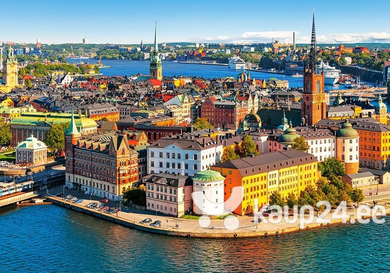 Pusle Puzzle Castorland The Old Town of Stockholm Sweden, 500 osa hind