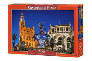 Pusle Puzzle Castorland Gdansk Neptune Fountain, 500 osa
