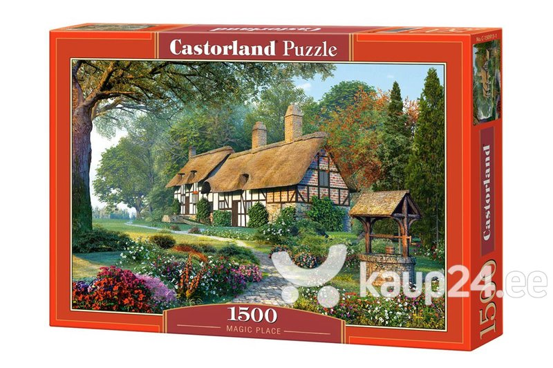 Dėlionė Puzzle Castorland Magic Place, 1500 det.