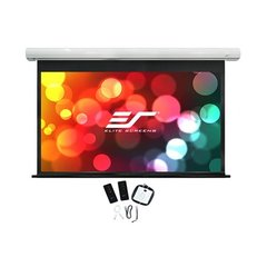 "Elite Screens Saker Series SK100XHW-E12 Diagonal 100 "", 16:9, Viewable screen width (W) 221 cm, White цена и информация 