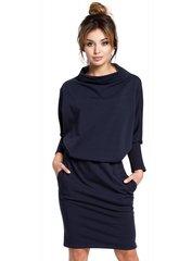 Naiste kleit BE B032, sinine hind ja info | Kleidid | kaup24.ee