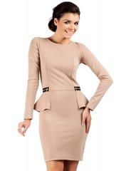 Naiste kleit MOE M040, helepruun