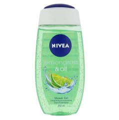 Dušigeel Nivea Lemongrass & Oil 250 ml