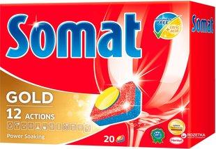 Nõudepeumasina tabletid Somat Gold, 20tk
