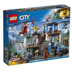 60174 LEGO® City Police Mountain Police Headquarters Горный полицейский участок