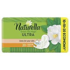 Hügieenisidemed Naturella Ultra Normal Green Tea, 20 tk