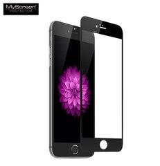 Kaitseklaas MyScreen Diamond Edge 3D, sobib Apple iPhone 6 Plus, must raam hind ja info | Kaitseklaas MyScreen Diamond Edge 3D, sobib Apple iPhone 6 Plus, must raam | kaup24.ee