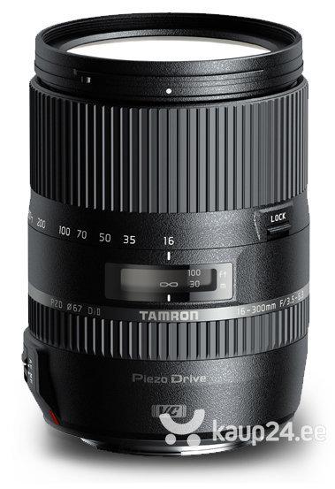 Objektiiv Tamron 16-300mm f/3.5-6.3 DI II VC PZD Macro lääts, Nikonile