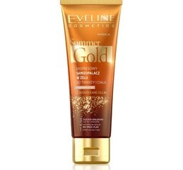 Isepruunistav kreem tumedamale nahale Eveline Summer Gold 3in1 100 ml