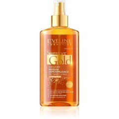 Isepruunistav kreem tumedamale nahale Eveline Summer Gold 5in1 150 ml