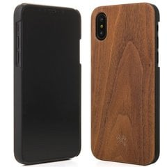 Kaitseümbris Woodcessories Walnut eco200 sobib Apple iPhone X