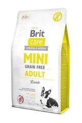Kuivtoit koertele Brit Care Mini Adult Lamb, 7 kg