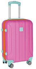 Keskmine kohverPaso 19-201PI, roosa hind ja info | Kohvrid, reisikotid | kaup24.ee
