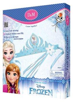 Loomingulie komplekt Elsa tiaara ja võlukepp Frozen D&M hind ja info | Arendavad mänguasjad 3+ | kaup24.ee
