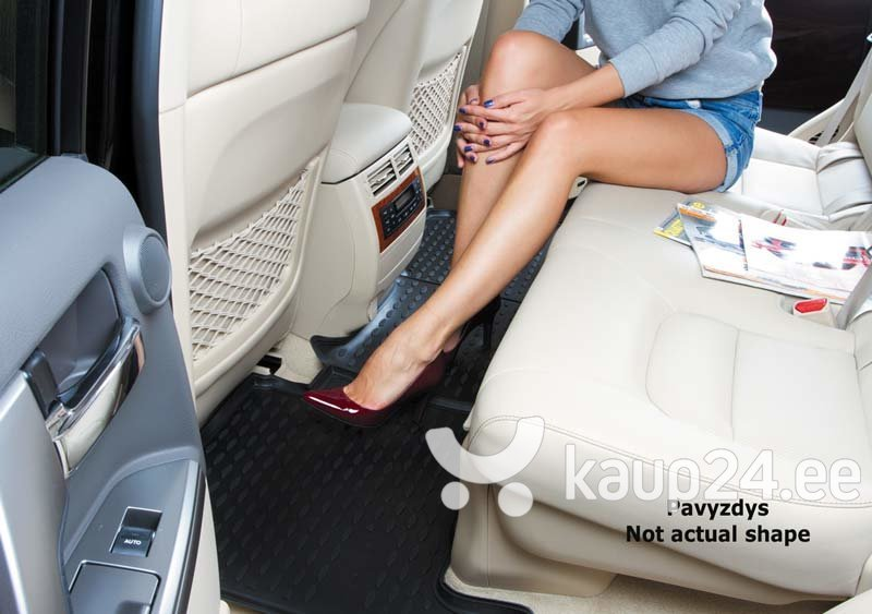 Kummimatid 3D RENAULT Clio 2012-> /L54039