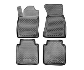 Kummimatid 3D AUDI A8 Long 2002-2009, 4 pcs. /L03008G /gray