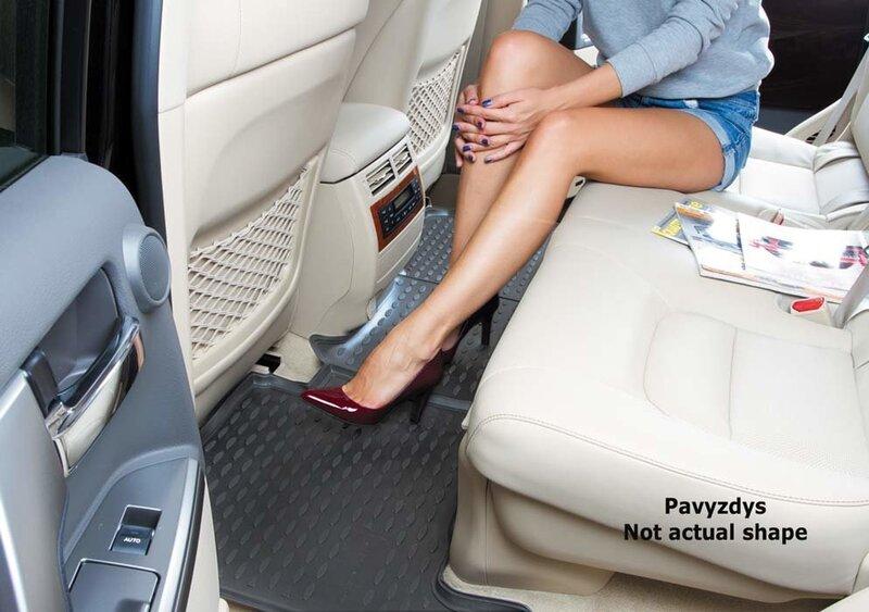 Kummimatid 3D FORD Tourneo Custom (1+2 seats) 2013-> / Transit Custom, (1+2 seats) 2014->, 2 pcs. /L19030G /gra