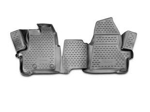 Kummimatid 3D FORD Transit (1+2 seats) 2014-2015, 2pcs. /L19032G /gray hind ja info | Kummimatid | kaup24.ee