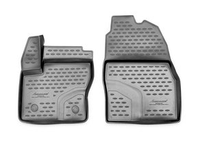 Kummimatid 3D FORD Transit/Tourneo Connect, 2014->, 2 pcs. /L19035G /gray