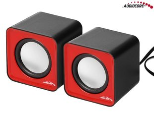 Kõlar Audiocore AC870R, punane