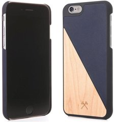 Kaitseümbris Woodcessories eco231 sobib Apple iPhone 6/6S, puit-tumesinine