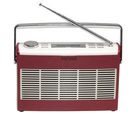 Raadio Denver DAB-37, punane hind ja info | Raadio Denver DAB-37, punane | kaup24.ee